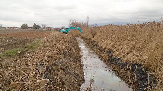 Општина Илинден континуирано го одржува каналските мрежи