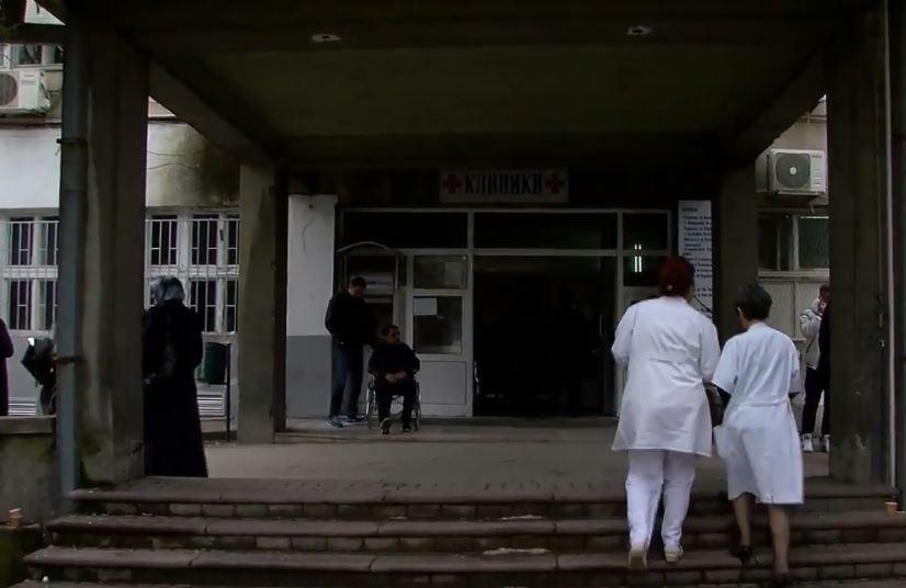 Избркани медицински сестри и персонал од Клиниката за уво нос и грло, меѓу нив и бремена жена
