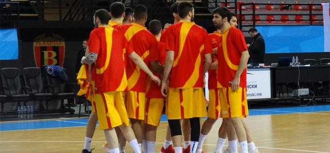 Кошаркарската репрезентација на Македонија го совлада Косово со 78-68