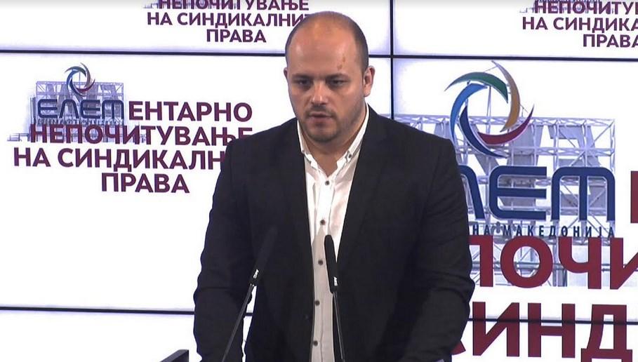 Костовски: Властите се изживуваат со над 4.000 вработени во ЕЛЕМ, директорот да си даде оставка
