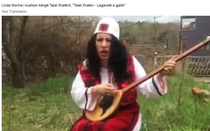 """ВИДЕО: Што се пее во песната за """"живата легенда"""" Талат Џафери?"""