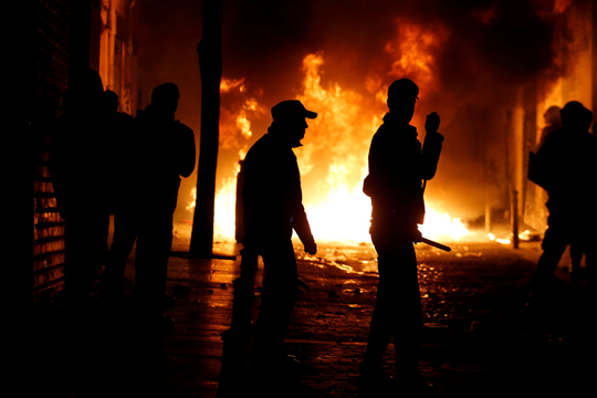 Повреден еден полицаец при екслозија на бомба во центарот на Атина