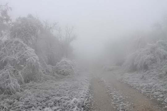 Внимателно на патот Лисец-Попова Шапка, видливост до 50 метри
