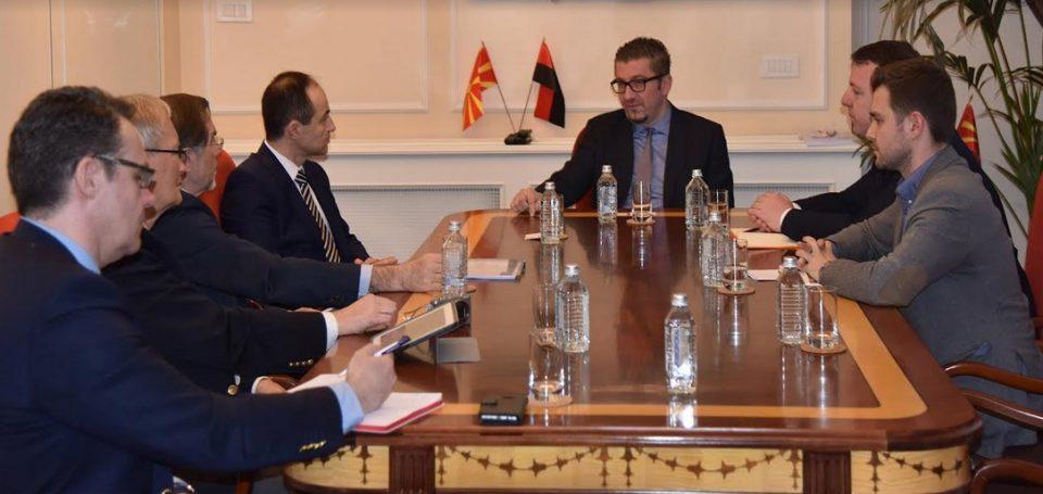 Мицкоски оствари средба со европратениците Ковачев, Петерле и Келам: ВМРО-ДПМНЕ се залага за побрза интеграција на Македонија во ЕУ