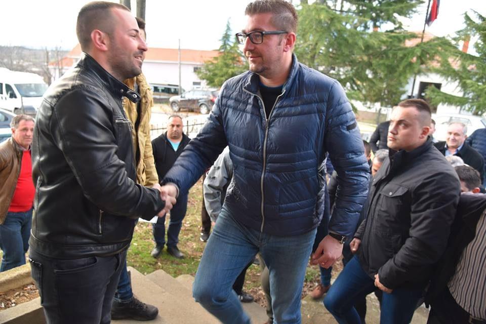 Мицкоски на средба со жителите на Конче: Бесперспективноста и игнорирањето од владата се работите кои го зголемуваат нивниот револт