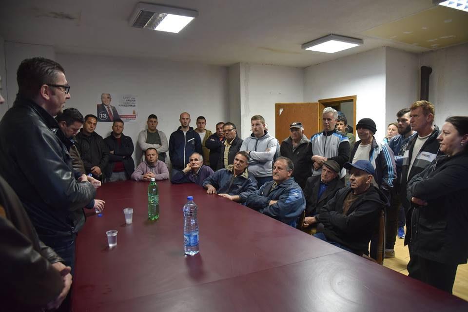 Мицкоски во Подареш: Народот сака да си ја врати државата