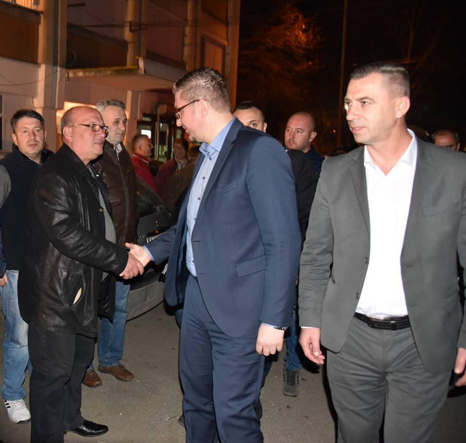 Пред преполната сала во Гази Баба, Мицкоски им порача на СДСМ: Ова зло што го правите ќе ви се врати како бумеранг