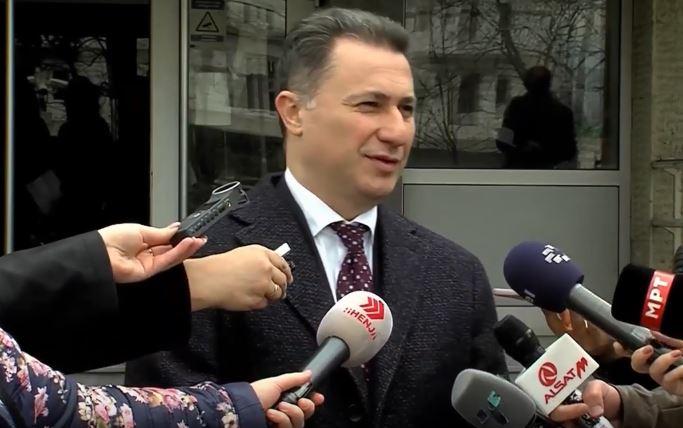 """Груевски: Сведоците на СЈО целосно ги демантираа нивните наводи, набавката на """"Мерцедесот"""" била согласно законот"""