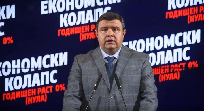 Мицевски: Економскиот колапс е очигледен, бројките потврдуваат