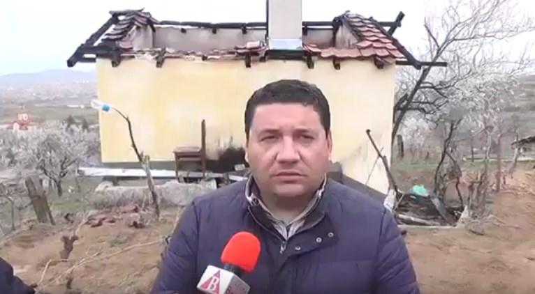 Се огласи Ристески: Пожарот е подметнат, се сомневам на политички мотивиран чин (ВИДЕО)