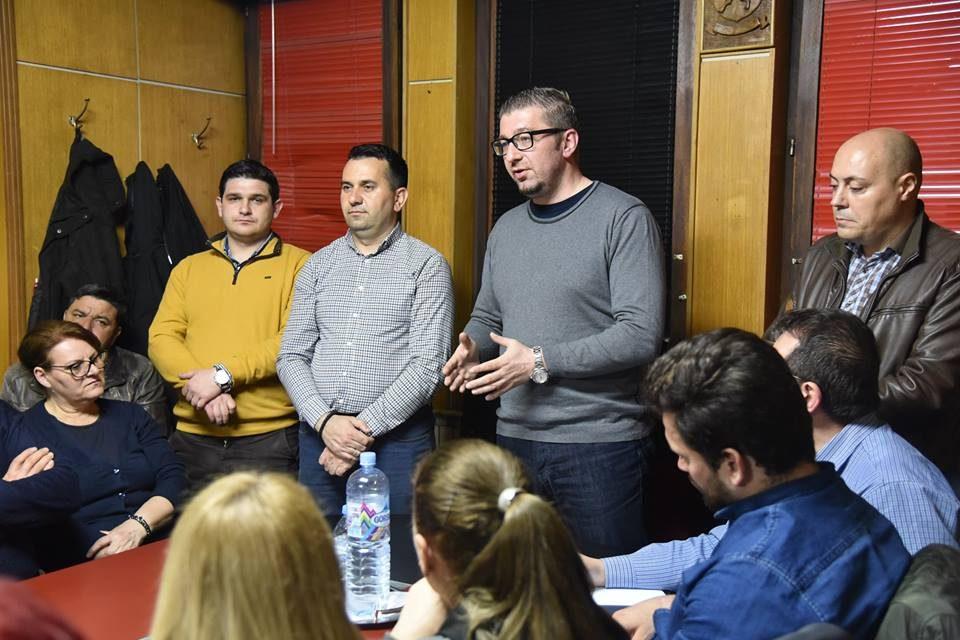 Мицкоски во Радовиш: Секое семејство оваа Влада го задолжи по 1.200 евра за само дваипол месеци