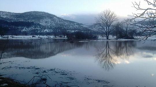 Зголемено нивото на реките, езерата во рамки на просекот