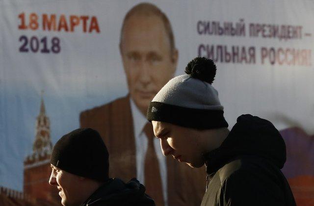 Русите бираат претседател, Путин фаворит