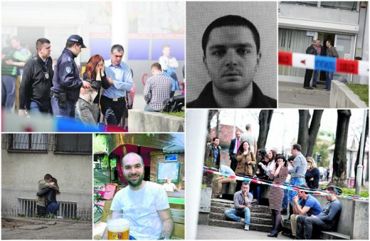"""Детали за крвавиот пир на """"Рузвелтова"""" во Белград- ова се убиениот и убиецот (ФОТО)"""