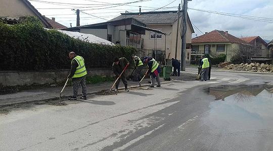 Акција за пролетно расчистување во Кисела Вода