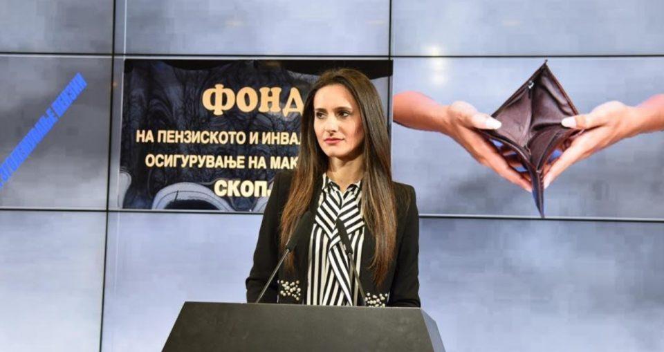 ВМРО-ДПМНЕ: Наместо покачување на пензиите, сега се случува намалување на стандардот на пензионерите