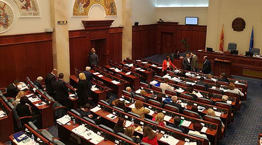 Пратениците од ВМРО-ДПМНЕ не одат на координација со Џафери, ќе му достават две писмени барања