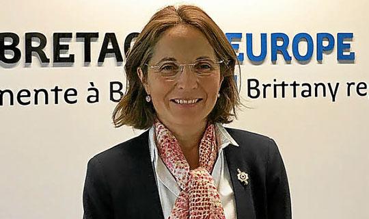 Француската пратеничка Танги во посета на Македонија
