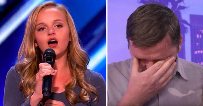 Ова талентирано дете пее за нејзиниот татко кој умира од рак: Нејзиниот настап ќе ве расплаче (ВИДЕО)