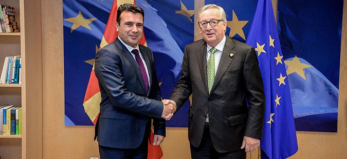 Заев во Софија на средба со Јункер и лидерите од Западен Балкан