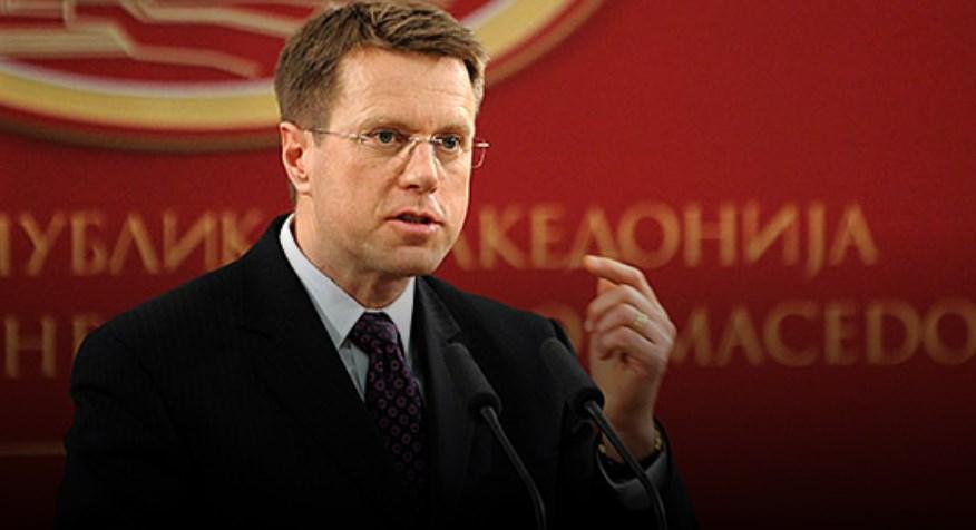 Жбогар: Постојат повеќе услови освен договорот со Грција за отворање на пристапните преговори со ЕУ