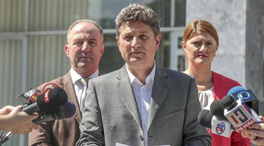 Илиоски: Присуството на ВМРО-ДПМНЕ на јавната расправа, не значи враќање во Парламентот