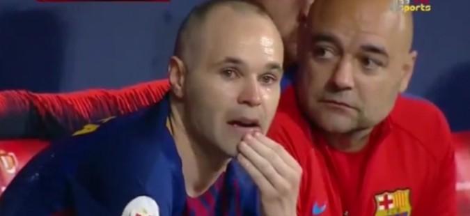 Емотивна разделба на Иниеста со Барселона