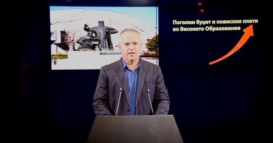Рамчиловиќ: Образованието, особено високото образование не е приоритет на СДСМ