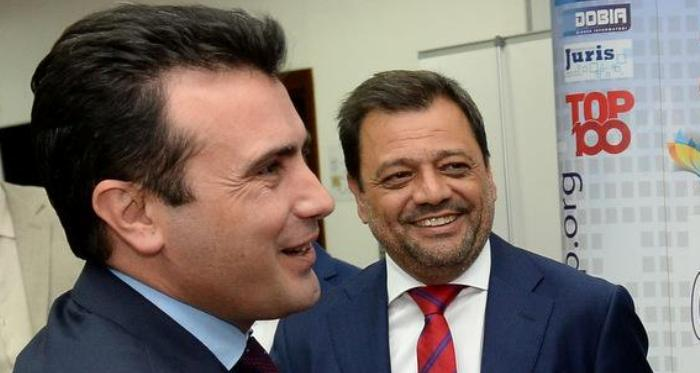 """ВМРО-ДПМНЕ: Заев и Анѓушев ги лажеа работниците и не направија ништо за """"Југохром"""" и """"ОХИС"""", но затоа направија за нивните фирми"""
