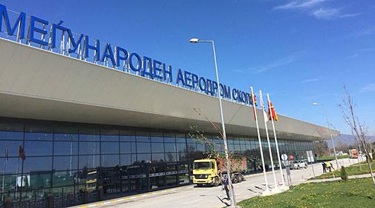 Апсење на скопскиот аеродром- еве ги деталите