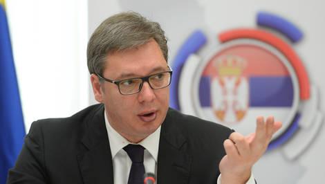 Вучиќ се огласи за референдумот во Македонија: Некои луѓе од светот нé потценуваат нас балканските народи