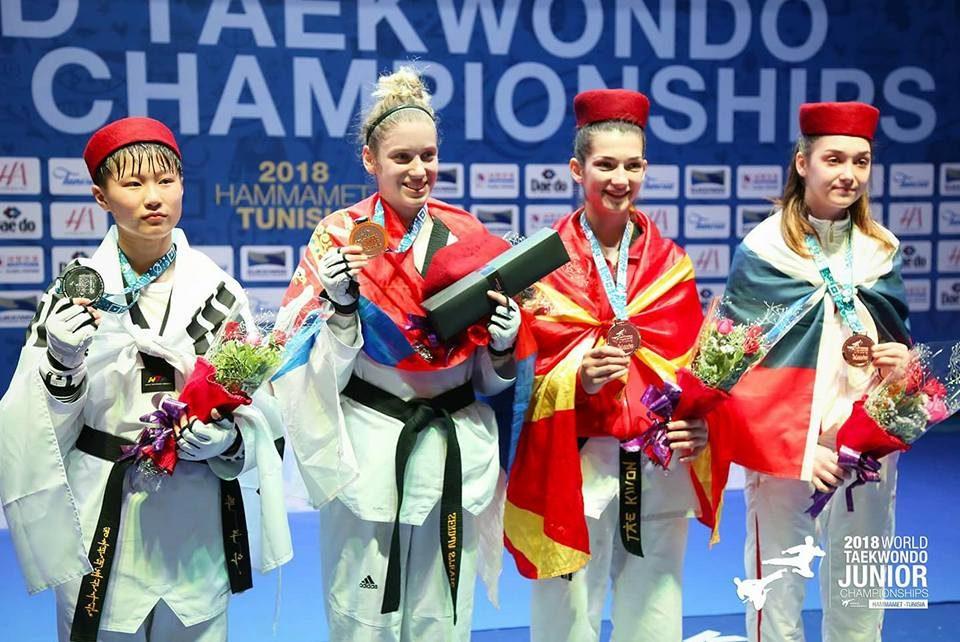 Македонска гордост: Нашата Анамарија со историски успех во олимписко таеквондо