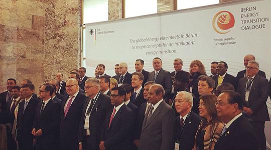 Анѓушев на самит за енергетика во Берлин