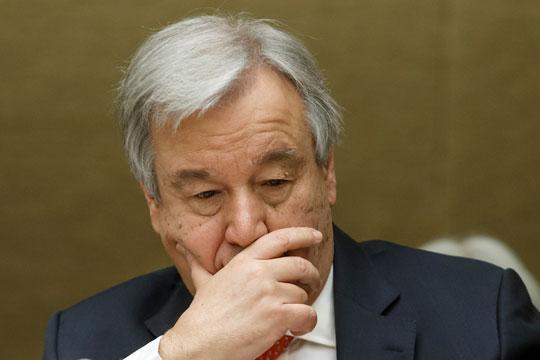 Генералниот секретар на ОН бесен поради нападите во Сирија