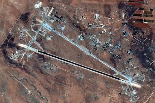 """Сириските воени извори демантираат дека е извршен ракетен напад врз базата """"Шајрат"""""""