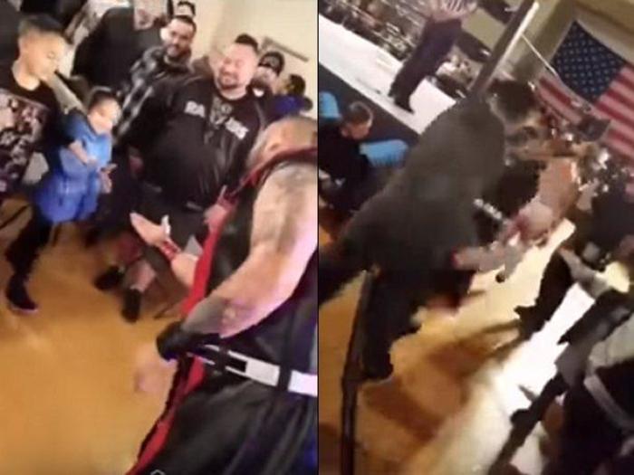 Борач плукна кон девојче во публиката, а потоа таткото му одржа лекција која ќе ја памти цел живот (ВИДЕО)