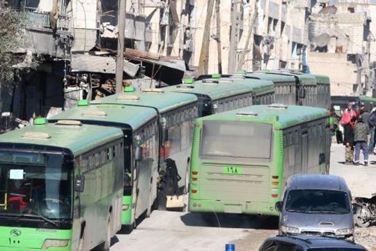 Бунтовниците во Думајар се разоружуваат и заминуваат од градот