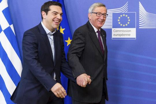Во Атина средба Ципрас- Јункер