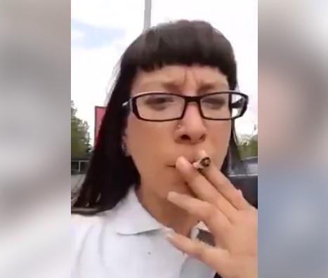 Приведена девојката која пушеше марихуана во Скопје