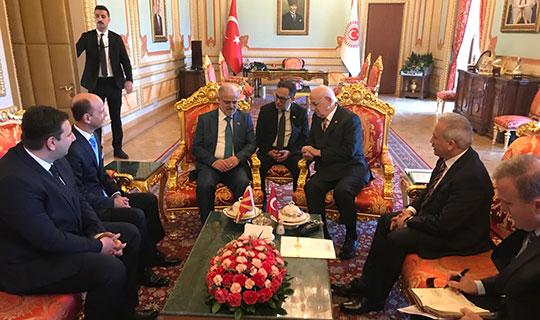 Џафери – Кахраман: Потврдено пријателството меѓу Македонија и Турција