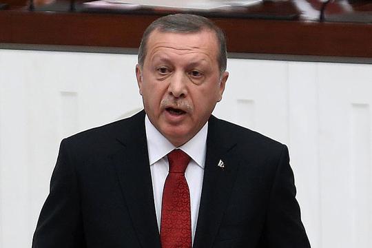 Ердоган ги поздрави ракетните напади врз Сирија