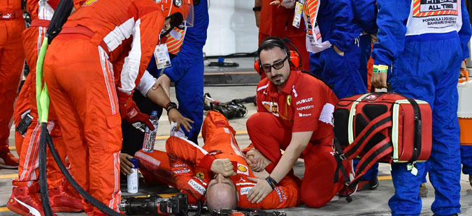 Се огласи механичарот на Ферари по вчерашниот инцидент со Раиконен