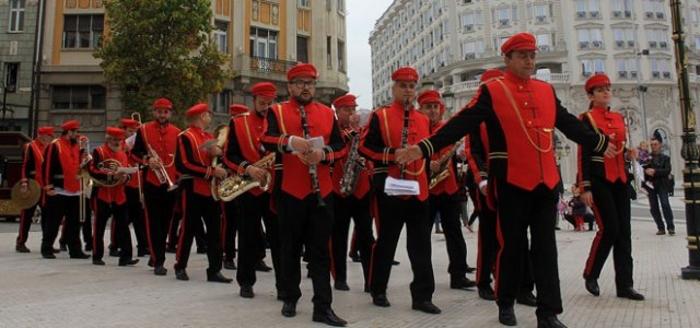 Парадно концертирање на Градскиот дувачки оркестар
