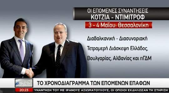 Грчки медиуми: Постигнат напредок во Охрид, но отворени остануваат потешките прашања