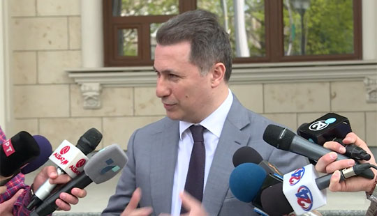 Груевски: Одбиеното изземање на судиите доказ дека ова е политички, а не правен процес