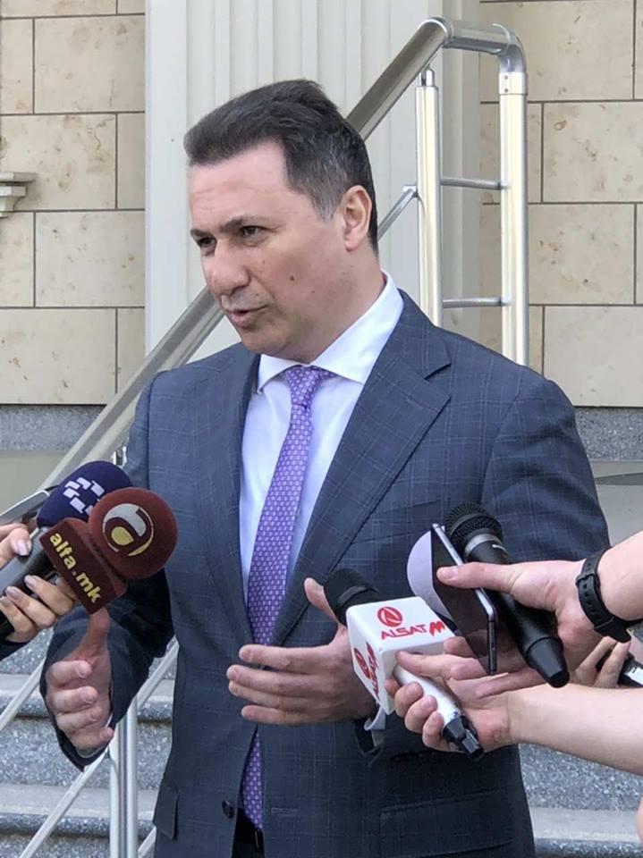 """Одложено рочиштето за """"Титаник"""", Груевски кажа дека рочишта има секогаш кога се преговара за името со Грција"""