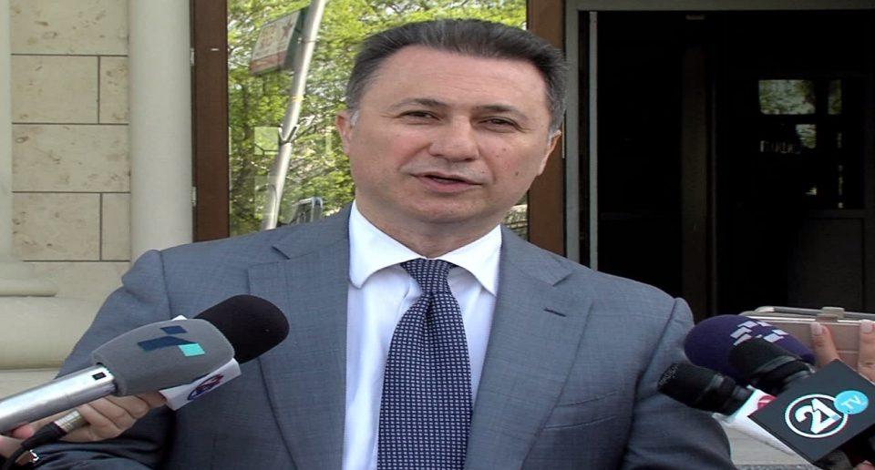 Груевски: Хајката што се води против мене е класично политичко УДБА-шко судење, какво што нема ниту во Северна Кореја