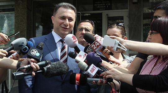 """Груевски: """"Тенк"""" е бесмислен и апсурден предмет"""