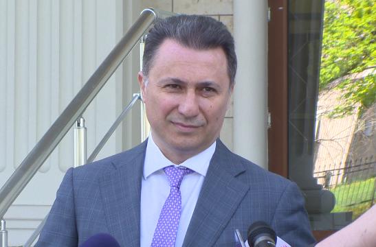 Груевски вели дека обвинувањата кон ВМРО-ДПМНЕ се само алиби за неработењето и безидејноста на оваа власт