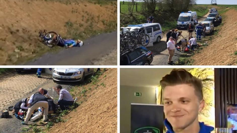 УШТЕ ЕДНА ГОЛЕМА ТРАГЕДИЈА ГО ПОТРЕСЕ СПОРТСКИОТ СВЕТ: Почина велосипедист што падна на трка